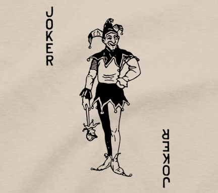 Details About Joker T Shirt Vintage Swap Playing Card Jester Ace King Queen Spade Tattoo Tee