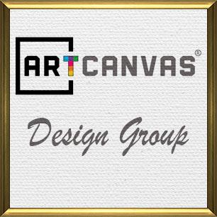 ARTCANVAS Design Group Canvas Art Prints