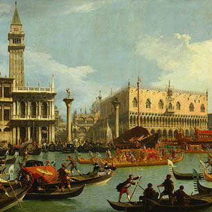 Canaletto Canvas Art Prints
