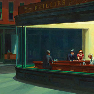 Edward Hopper Canvas Art Prints