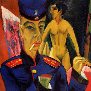Ernst Ludwig Kirchner Canvas Art Prints