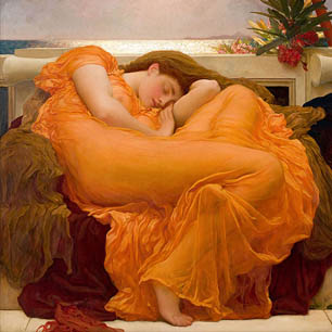 Frederic Leighton Canvas Art Prints