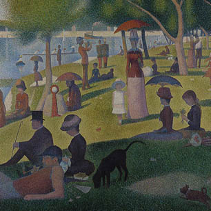 Georges Seurat Canvas Art Prints