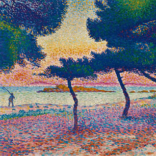 Henri Edmond Cross Canvas Art Prints