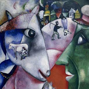 Marc Chagall Canvas Art Prints