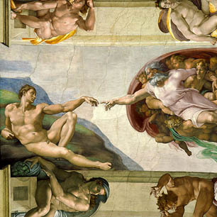 Michelangelo Canvas Art Prints