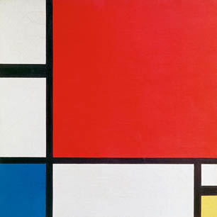 Piet Mondrian Canvas Art Prints
