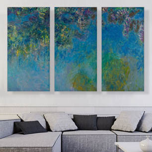 3-Piece Art Canvas Art Prints