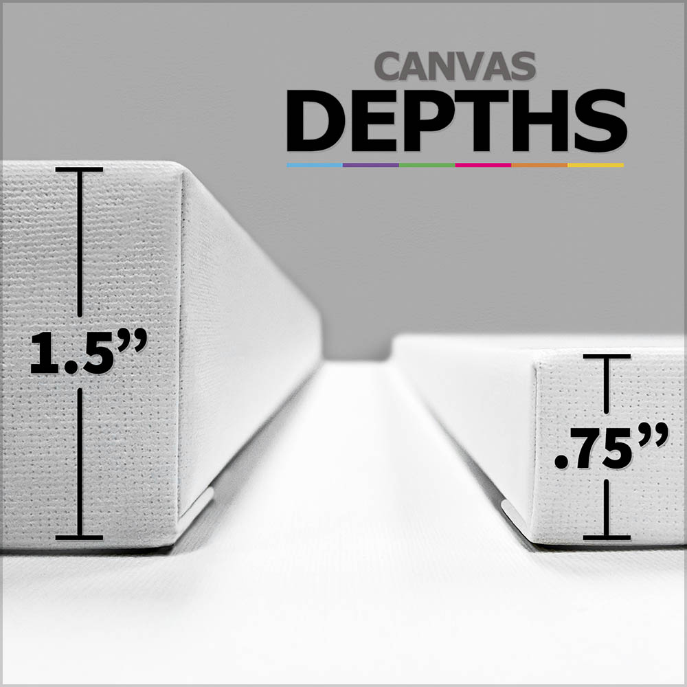 "for 40/""x26/"" CANVAS SIZE BUY 1.5/"" DEEP Bars Upgrade"