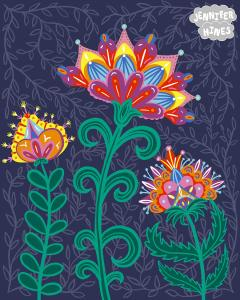 JenniferHines-Folk florals-sm