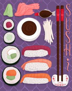 JenniferHines-Sushi_Sketch