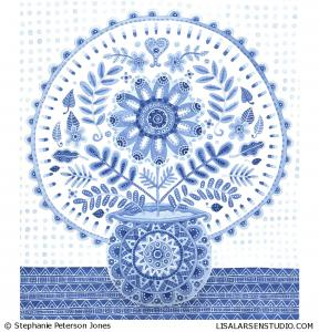 SPJ-1167-Blues-Vase