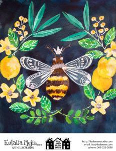 Bee-Two-sheet