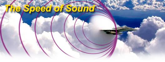 jet reaching speed of sound
