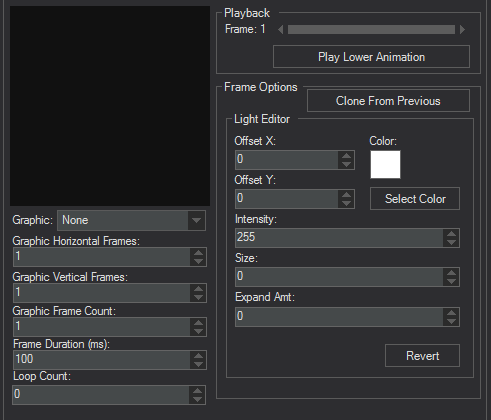 Editor Interface 1