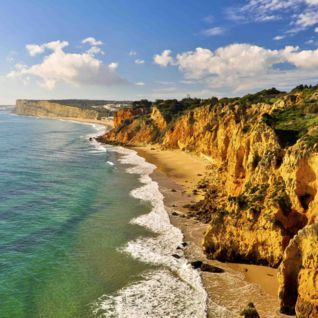 Cliffs in the Algarve