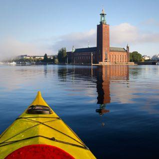 Kayaking Stockholm