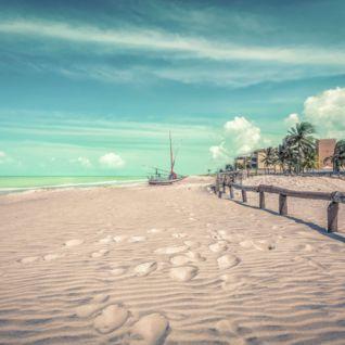 Empty Brazilian Beach