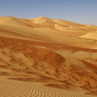 Sand dunes in the Empty Quarter