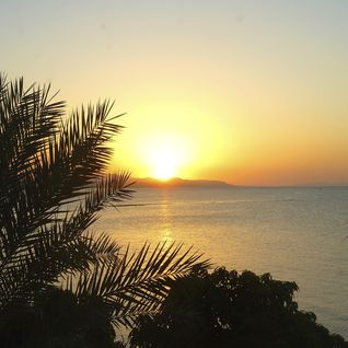 Djibouti coast sunset