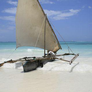 A boat on the shore, Tanzania