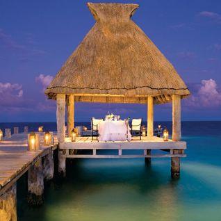 Hotel view in Mexico, Riviera Maya