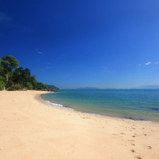 Thailand sandy beach