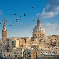 View across Valletta