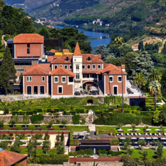 Aerial View over Six Senses Douro Valley