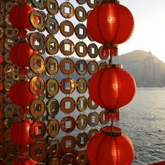Hong Kong lanterns