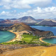 Galopagos view from Bartolome Island