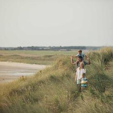 Northumberland sand dunes