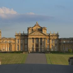 blenheim palace from the drive