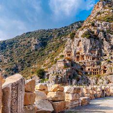 lycian rock tombs
