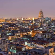 havana skyline at night