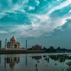 Taj Mahal by moonlight