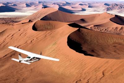 Flying Safari on Namibia's Skeleton Coast