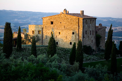 Exterior photo of Castello Di Vicarello