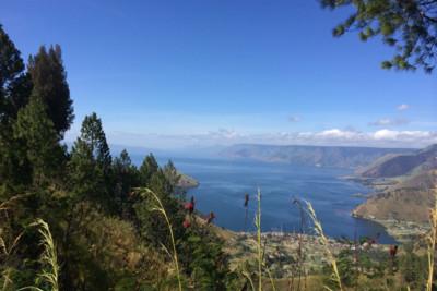 View of Lake Toba