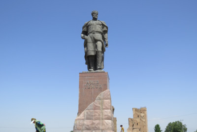 Tamerlane_at_Shakrisabz
