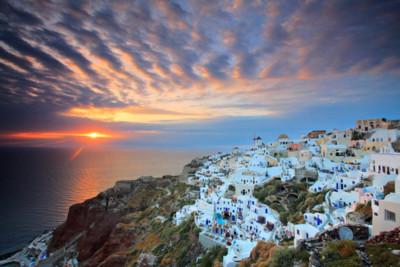 cliffs-crete-sunset