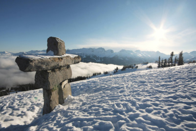 winter in whistler