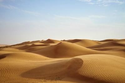 Oman desert sands