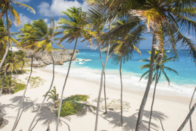 Barbados beach, Caribbean