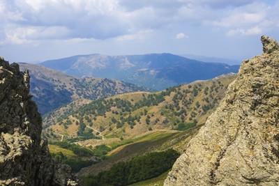 Mountains in Sardinia