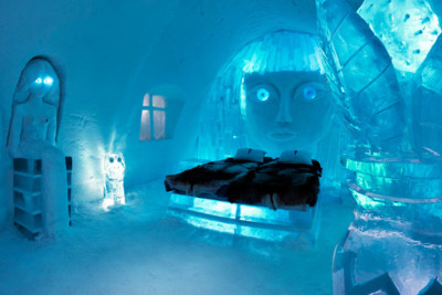 Room at the Ice Hotel