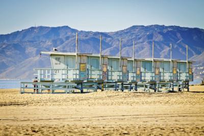 venice beach huts