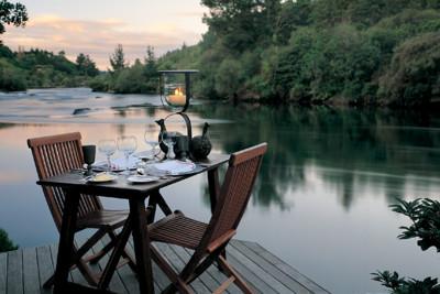 Lakeside Honeymoon Meal