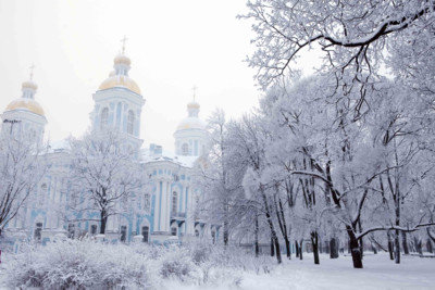 Winter in St Petersburg