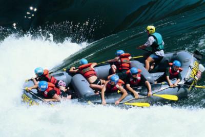 rafting adrenaline falls